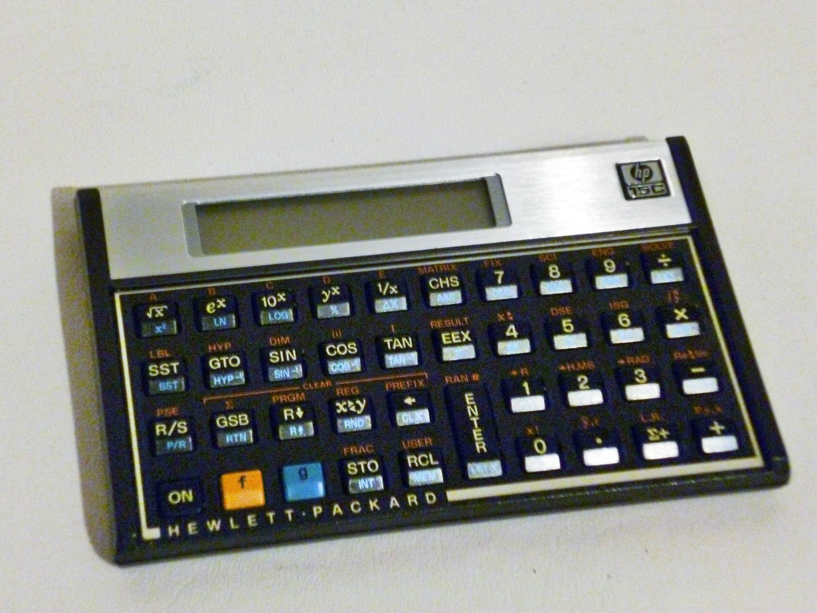 Hp 15c Scientific Calculator Rpn With Owner S Handbook Made In Usa Ebay Scientific Calculators Technology Today Calculator