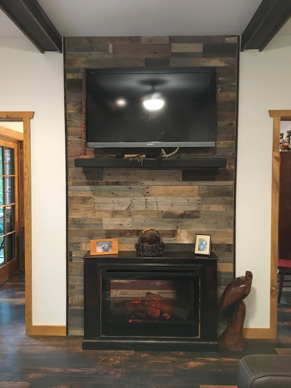 Pre Fab Wood Wall Panels Wood Panel Walls Rustic Fireplace Mantels Wood Pallets