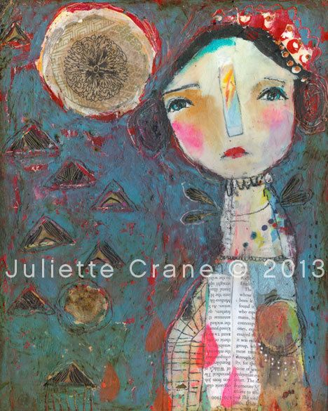 Whimsical Owls and Other Art from the Heart by juliettecrane