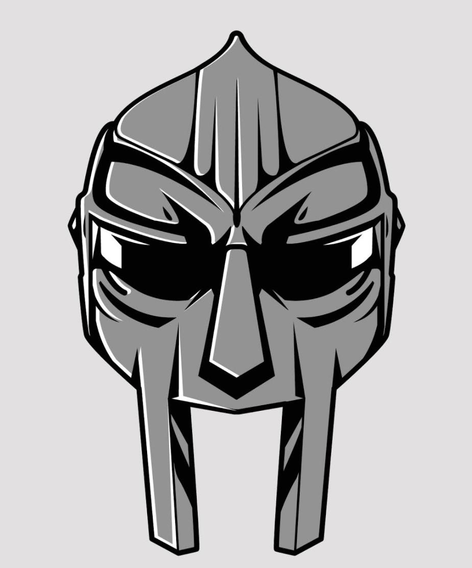 Doom Lapel Pin Mf Doom Music Artwork Doom
