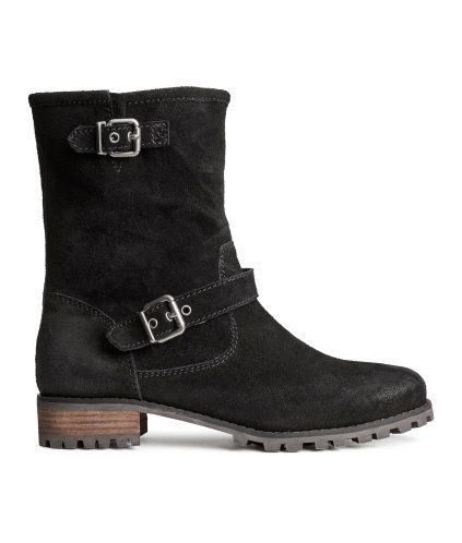 Suede Boots | Product Detail | H&M
