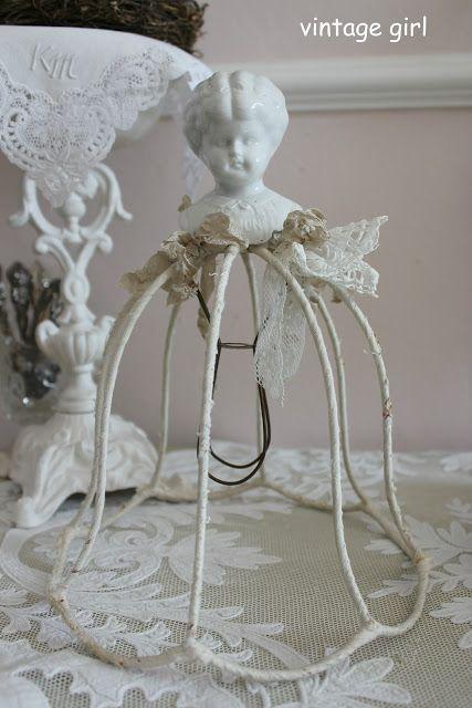 vintage girl dolls dolls dolls pinterest deko lampen und puppen. Black Bedroom Furniture Sets. Home Design Ideas