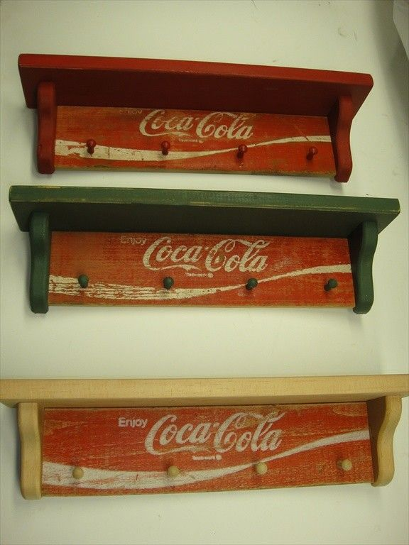 Cocacola Original Country Wall Shelf 1970 By Subman On