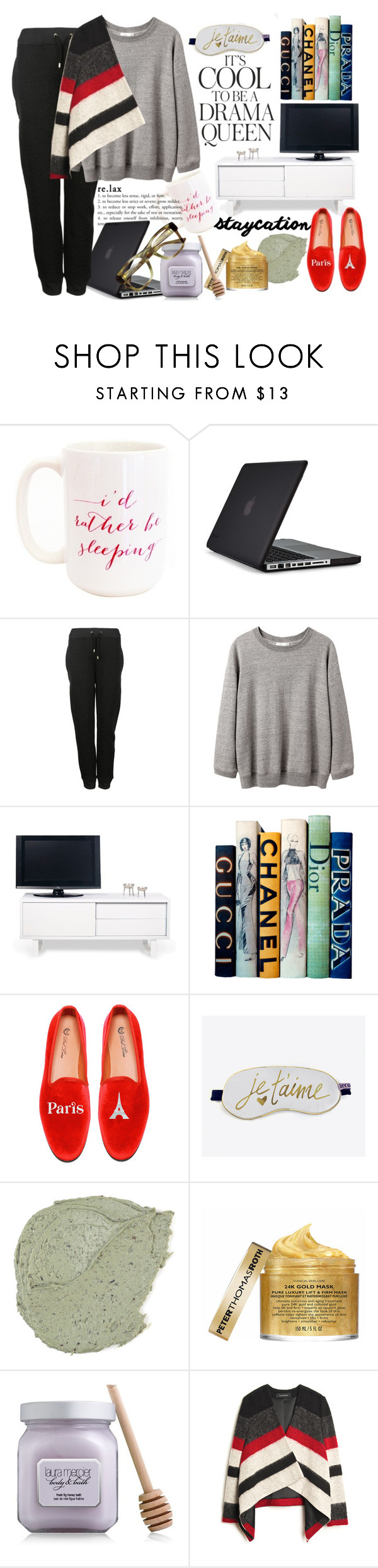 """""""The Last Two Weeks"""" by harperleo ❤ liked on Polyvore featuring Moon and Lola, Speck, Emma Watson, Moschino, La Garçonne Moderne, TemaHome, Motif Designs, Del Toro, Peter Thomas Roth and Laura Mercier"""