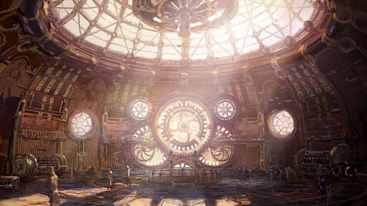 steampunk environment google search clock tower