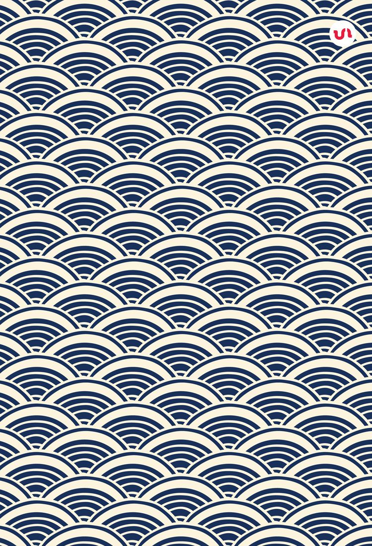 Hand Drawn Japanese Patterns Japanese Patterns Repeating