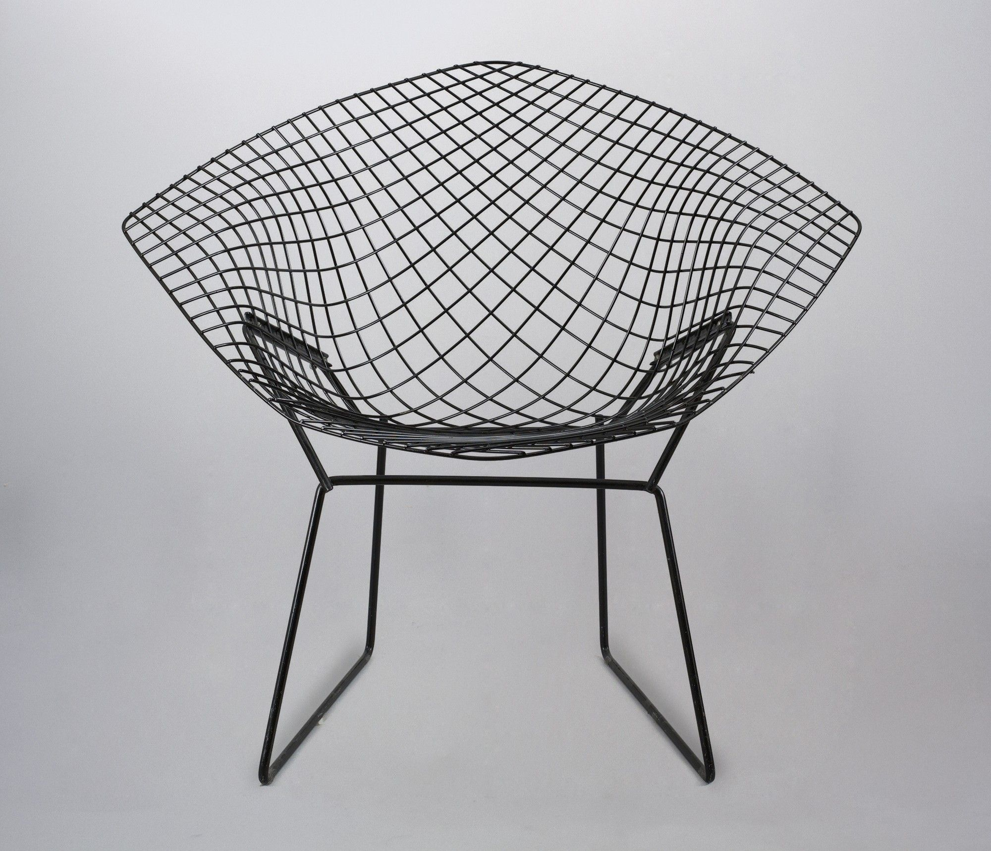 Silla Replica Bertoia Diamond  Negra
