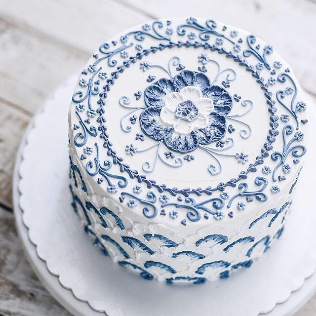 Daily work for @ivenoven  A cake should be delicious and beautiful.