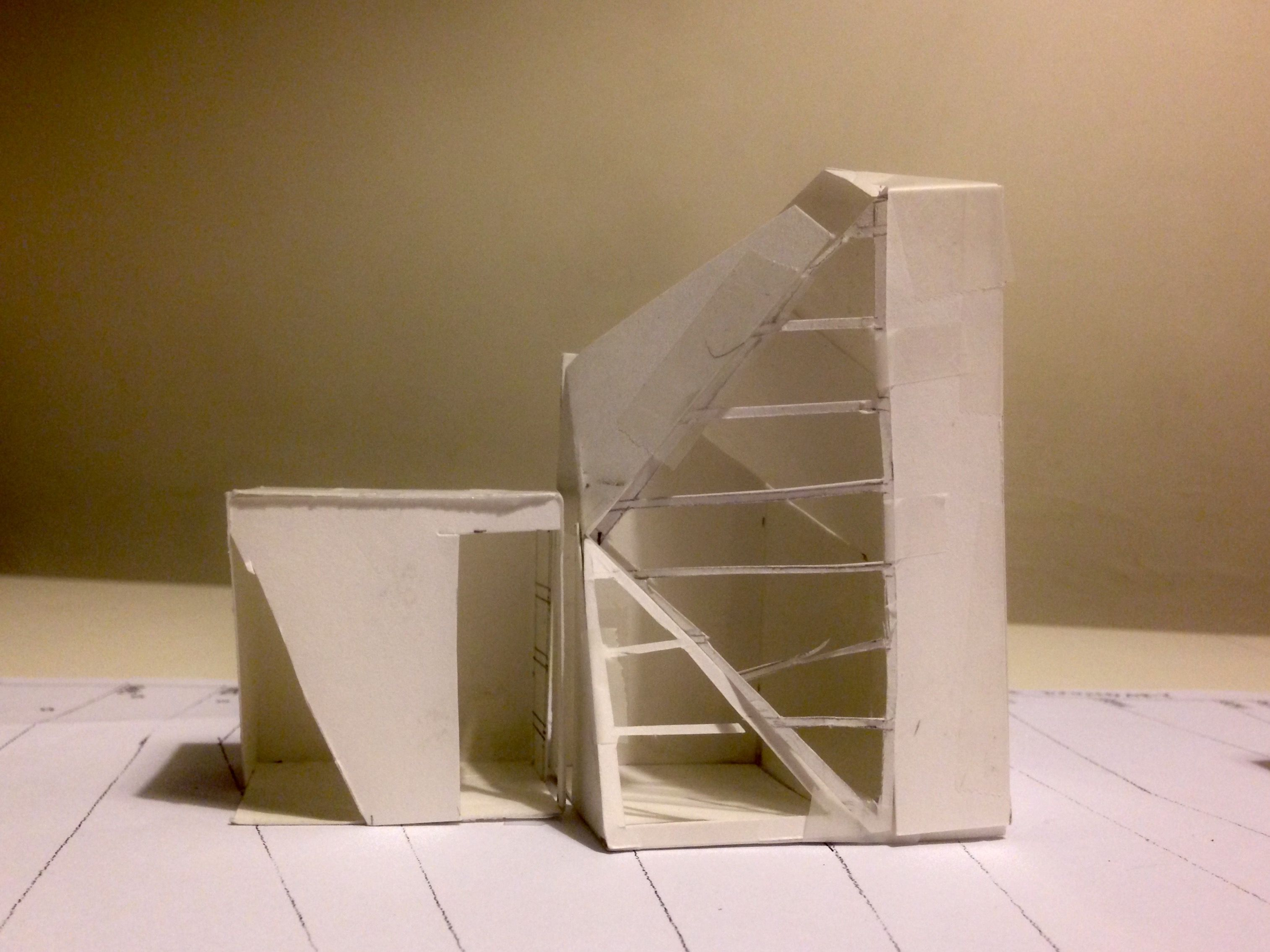 UniSA Interior Architecture Design Studio 1 Assignment 3 Place Sketch Model Space