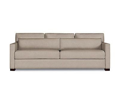 Modern Sectional Sofas KEATON LUXE QUEEN SLEEPER FULMER TAUPE hi res Parallel Sofa Pinterest Sleeper sofas Mitchell gold and Loveseats