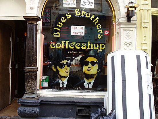Blues Brothers Coffee Shop Amsterdam