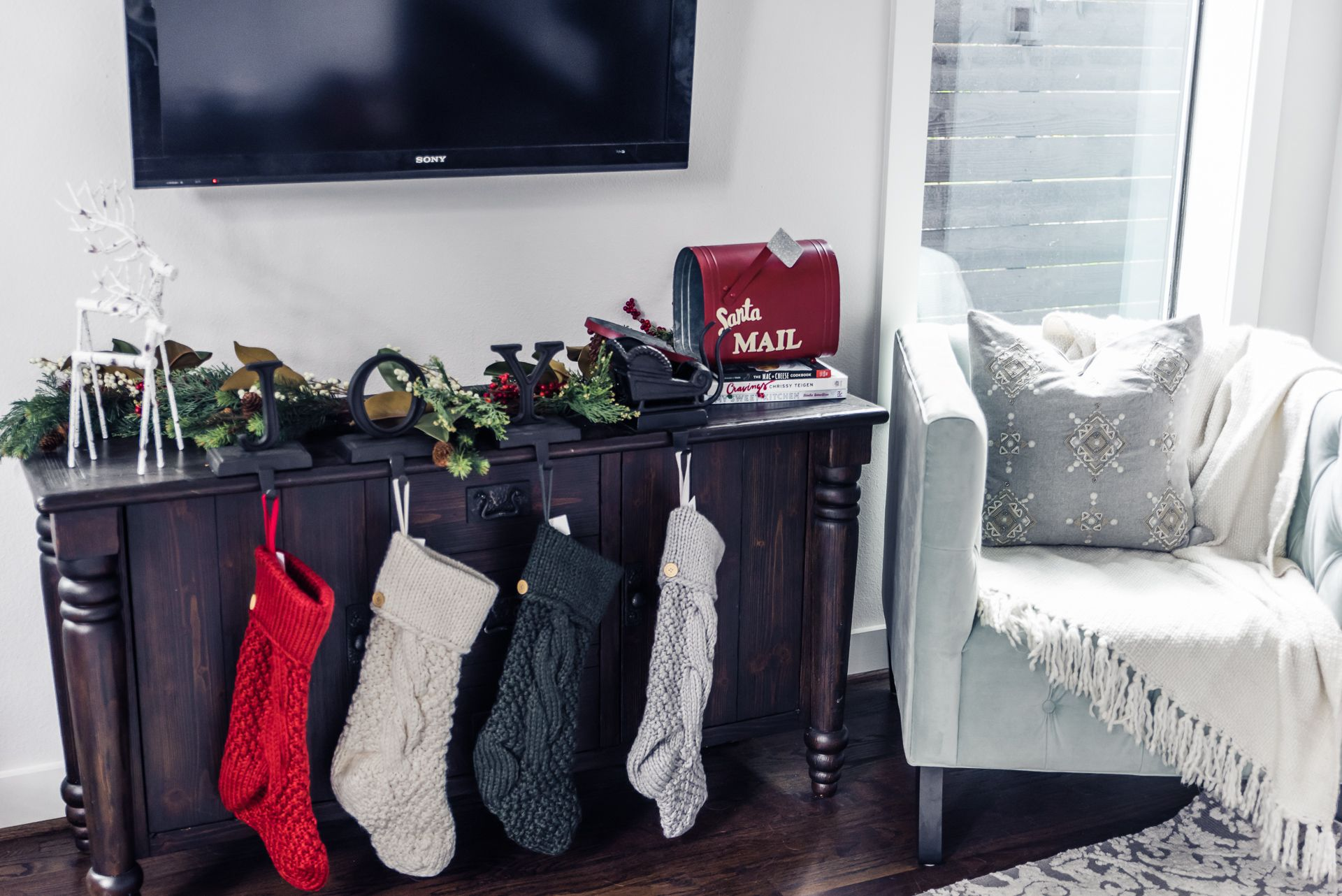 And The Stockings Were Hung... | Festive Home Decor As Seen On The