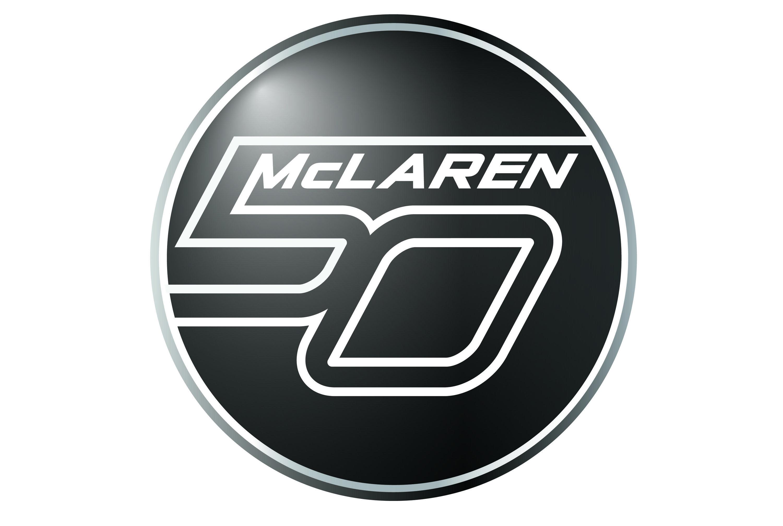Mclaren's 50 Year Anniversary Video Logo design branding