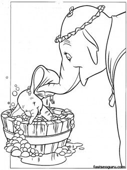 Coloring Pages Disney Characters Dumbo And Mrs Jumbo Printable Coloring Pages For Kids Cute Coloring Pages Coloring Books Cartoon Coloring Pages