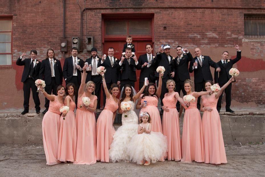 Gorgeous wedding Color.