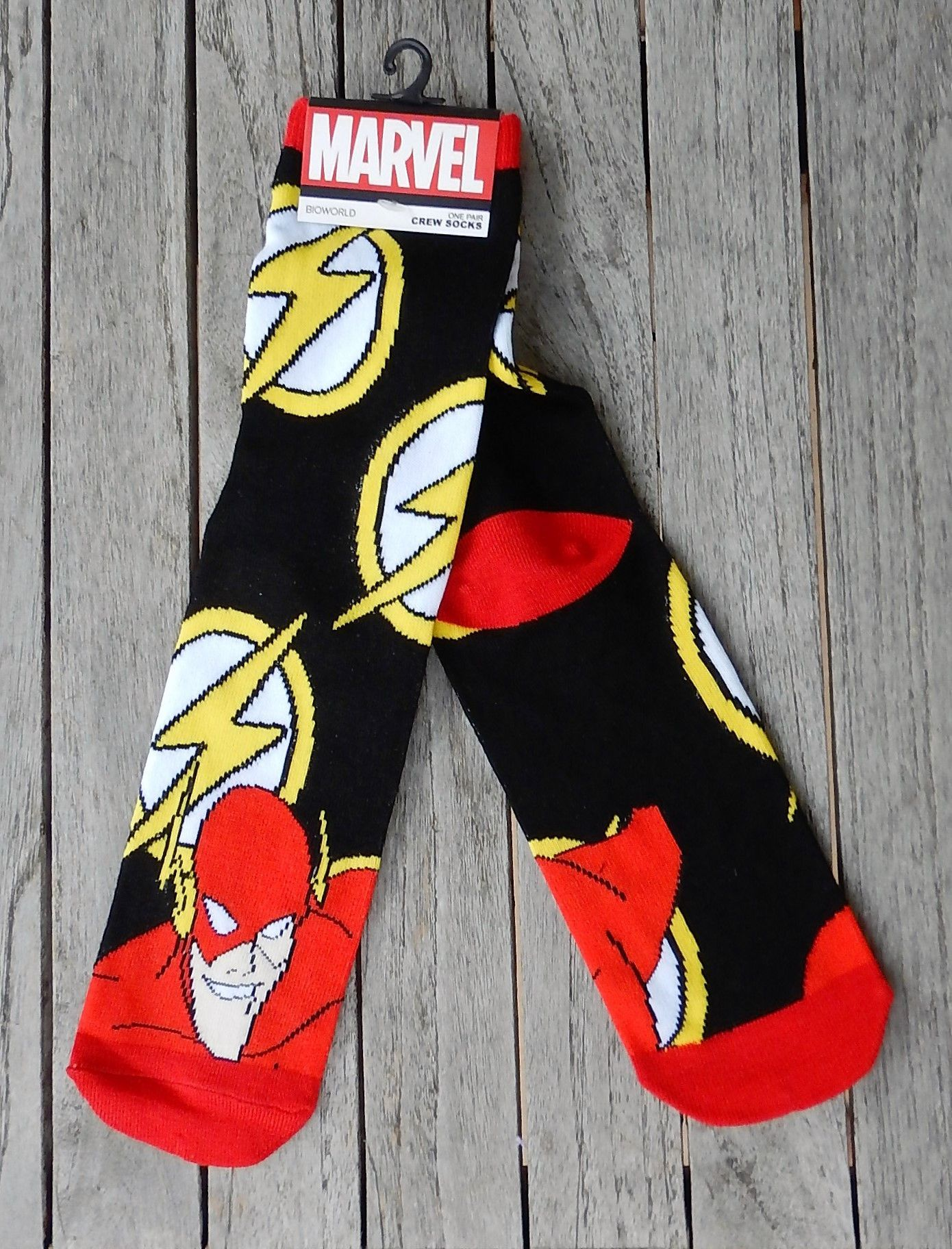 Marvel Comic Series Ankle Socks - Teen and Adult Size