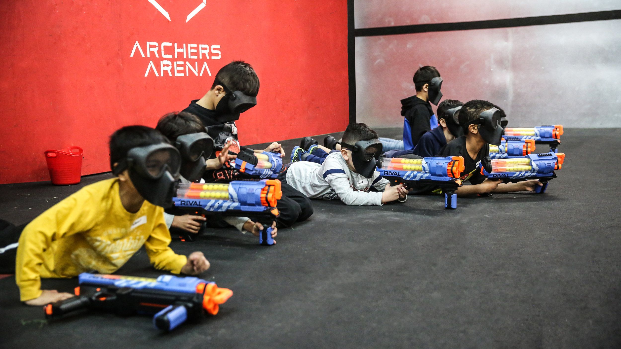 NERF WARS TORONTO NERF BATTLE BEST ARENA NERF STRONGARM