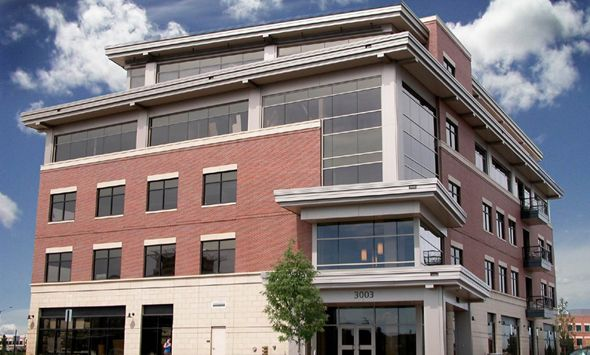Harmony One Is A Five Story 56 000 Square Foot Professional Office Building Located Along The Har Commercial Architecture Architecture Project Building Design