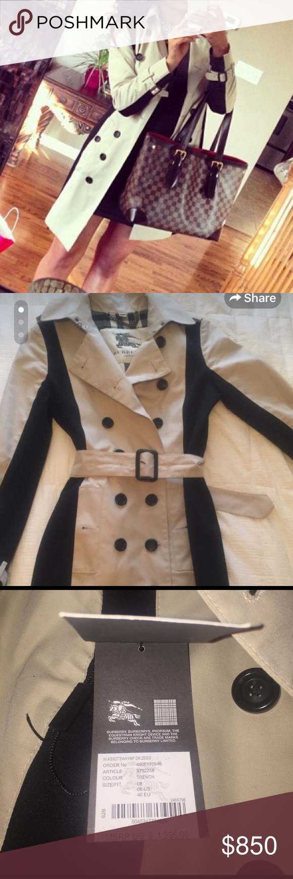 Burberry London trench coat Good condition. Burberry Jackets & Coats Trench Coats