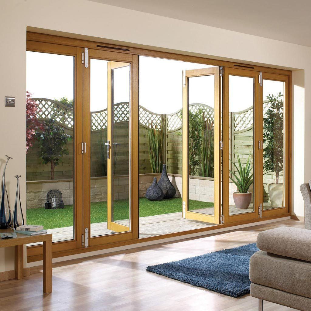 Nuvu Oak Folding Doors Fully Decorated Widths Are 6ft 7ft 8ft 10ft 12ft 14ft Wide Casas Casas Novas Janelas