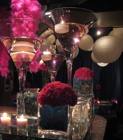 table arrangement | Great Gatsby Tables & Decorating ...