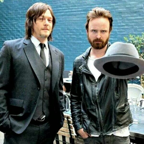 """Is The Walking Dead A Sequel To Breaking Bad Youtube: Norman Reedus (Daryl Dixon """"The Walking Dead"""") And Aaron"""