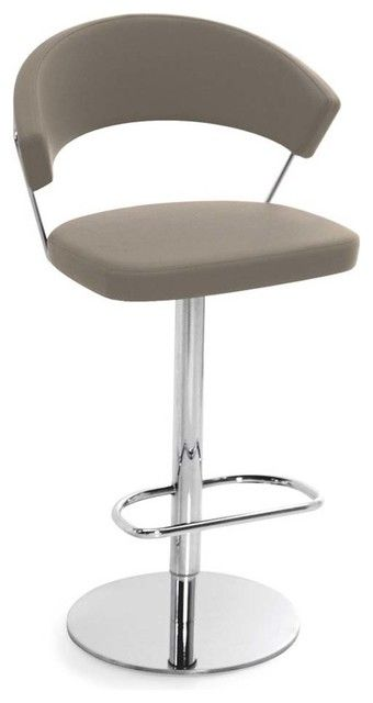 Fantastic Chraming New York Swiveling With Gas Lift Modern Bar Stools Caraccident5 Cool Chair Designs And Ideas Caraccident5Info
