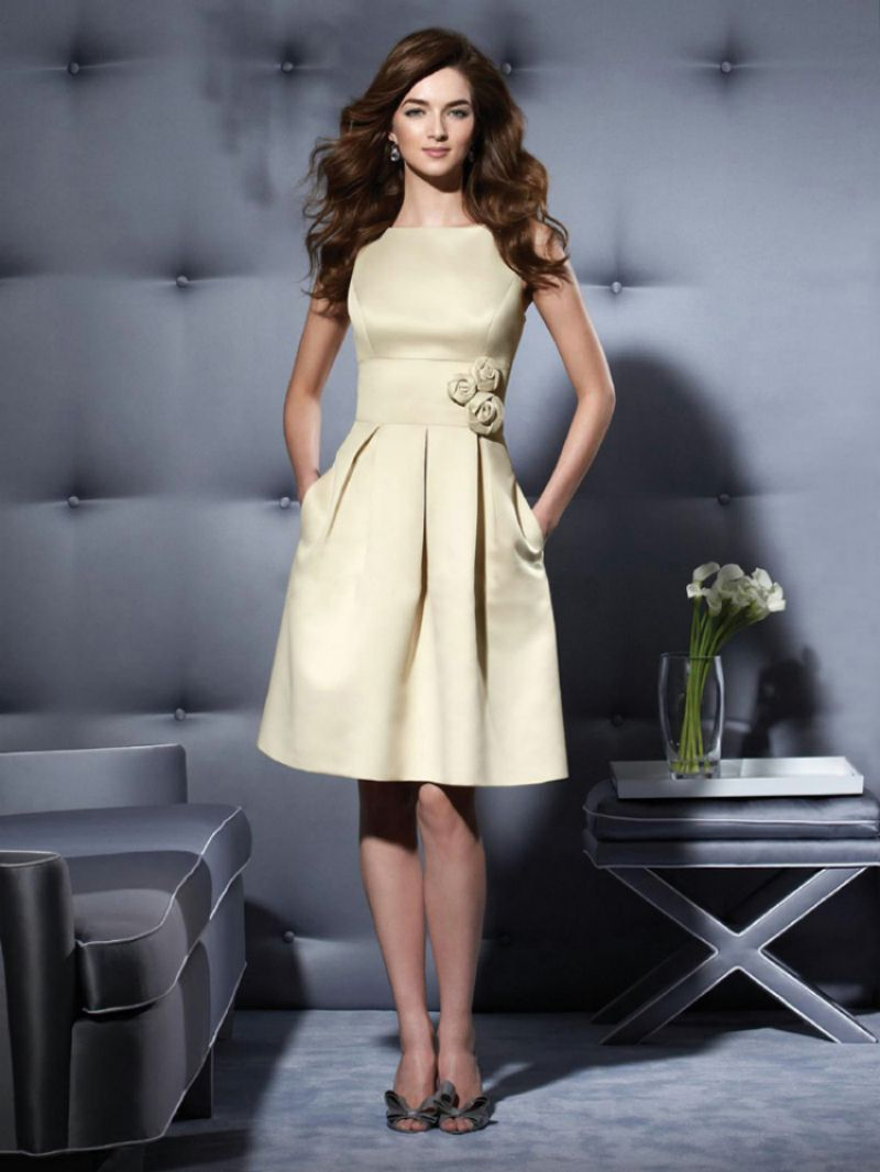 Elegant-Knee-Length-Cocktail-Dresses-Vestidos-De-Coctel-Bateau ...
