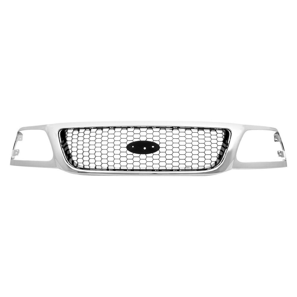 New Grille Front For Ford F 150 1999 2003 Fo1200404 3l3z8200bb 2 Door 4 Door Ebay Ford F150 Ford Grilles