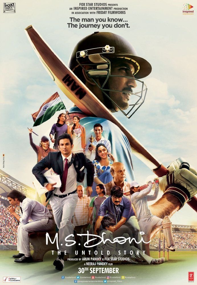 Watch M S  Dhoni: The Untold Story (2016) Movie Online Free HD