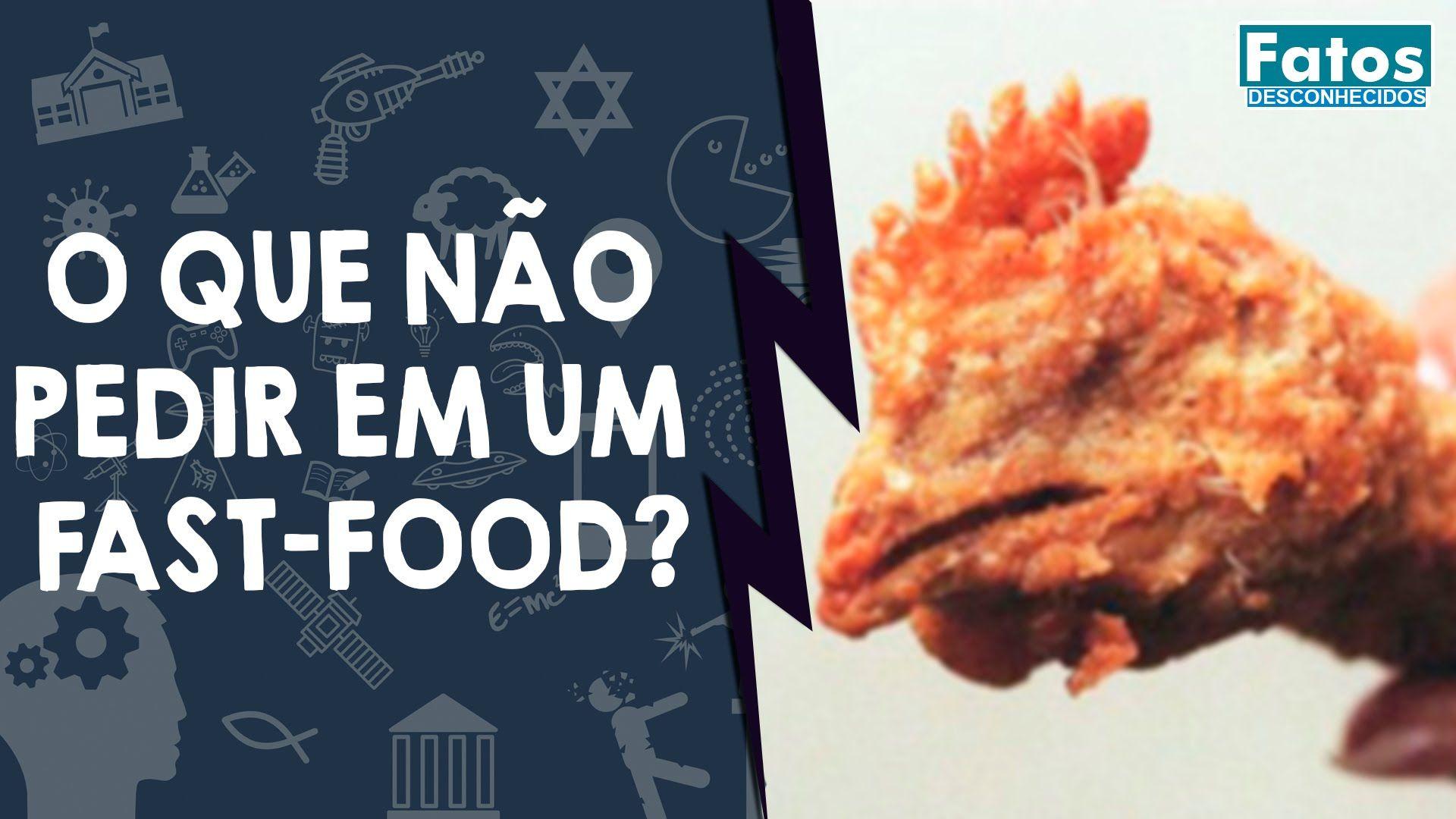 O que não pedir em um fast-food?