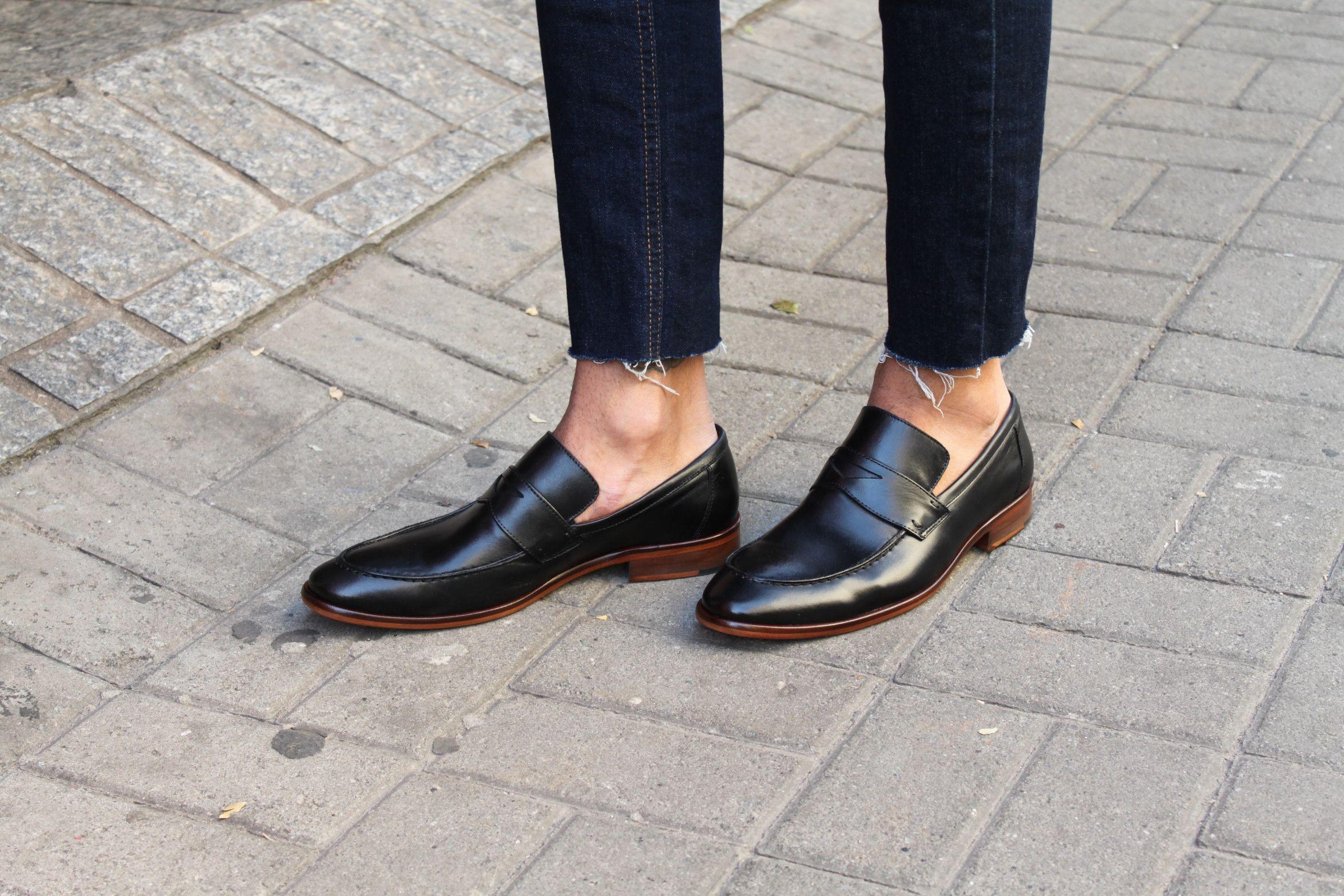 56963f23e4 Sapato Masculino Loafer CNS Jack em couro cor Preto com sola de couro e  forro de couro.  cns  cnsmais  masculina  loafer  mocassim  couro  leather   shoes   ...
