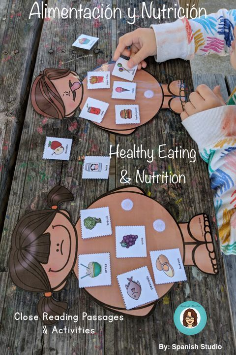 Food Groups and Nutrition (Spanish) -