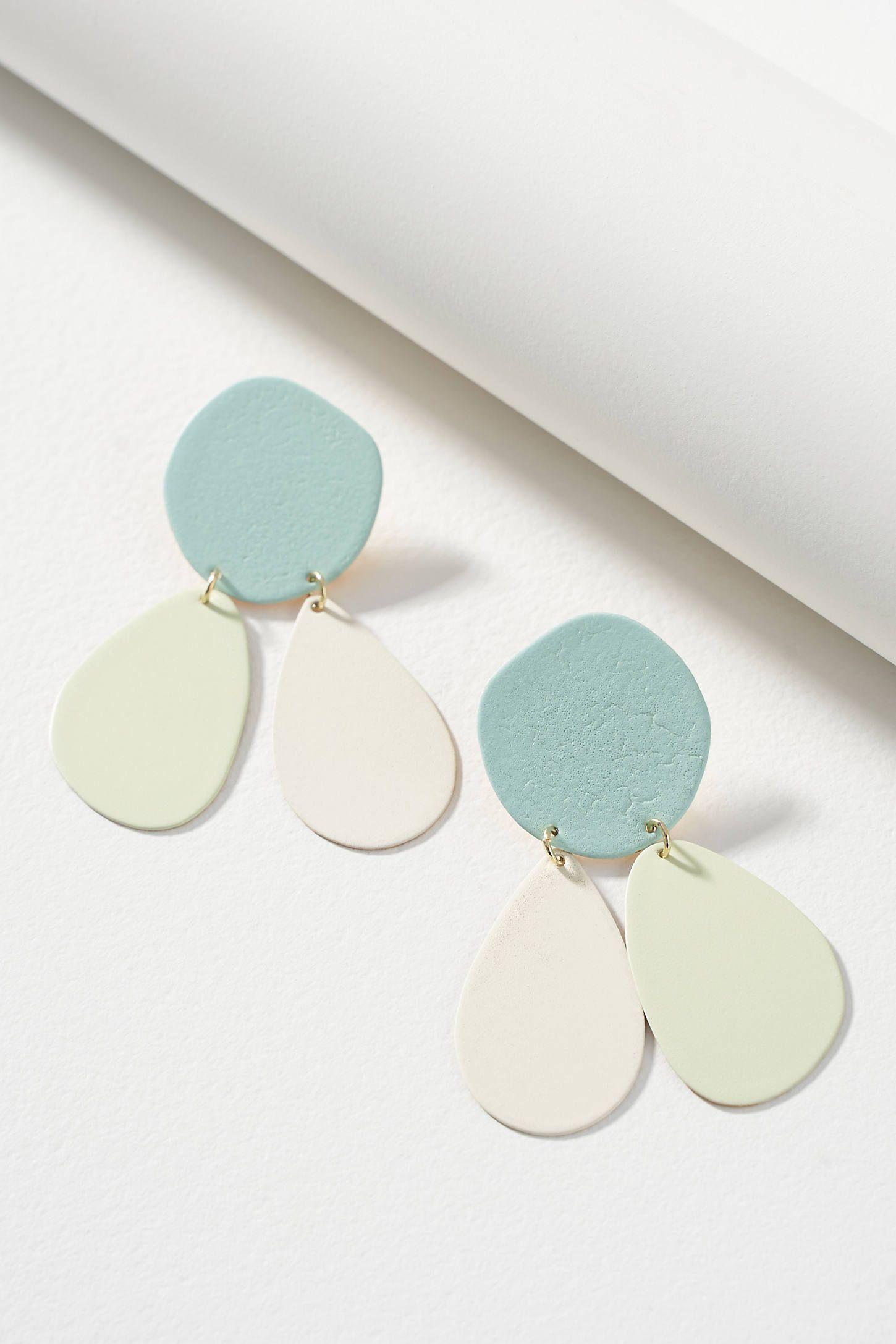 Izzy Porcelain earrings