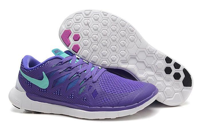 new styles 86ba8 789a7 Mejor Nike Free 5.0 Zapatillas Azul Oscuro Púrpura Gris