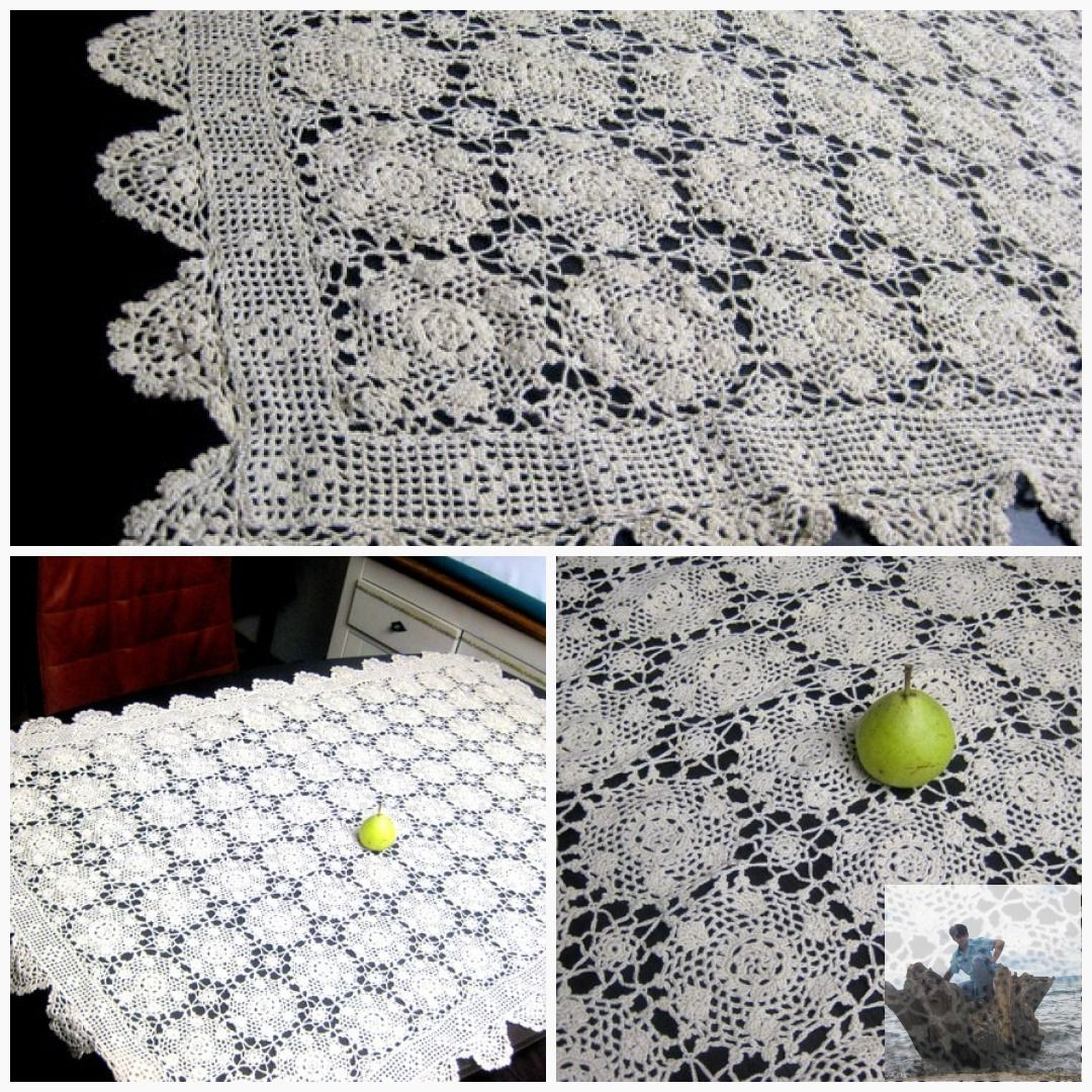 Free Shipping Gift Sale French Crochet Covers 55 Inch Handmade White Cotton French Crochetgift Shepherd E324 Handembroidered Madecover Cottoncover Windlicht