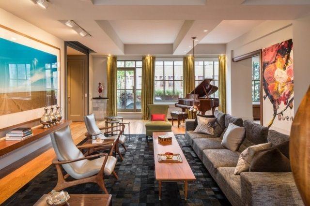 75 idées originales pour aménagement de salon moderne | Table ...
