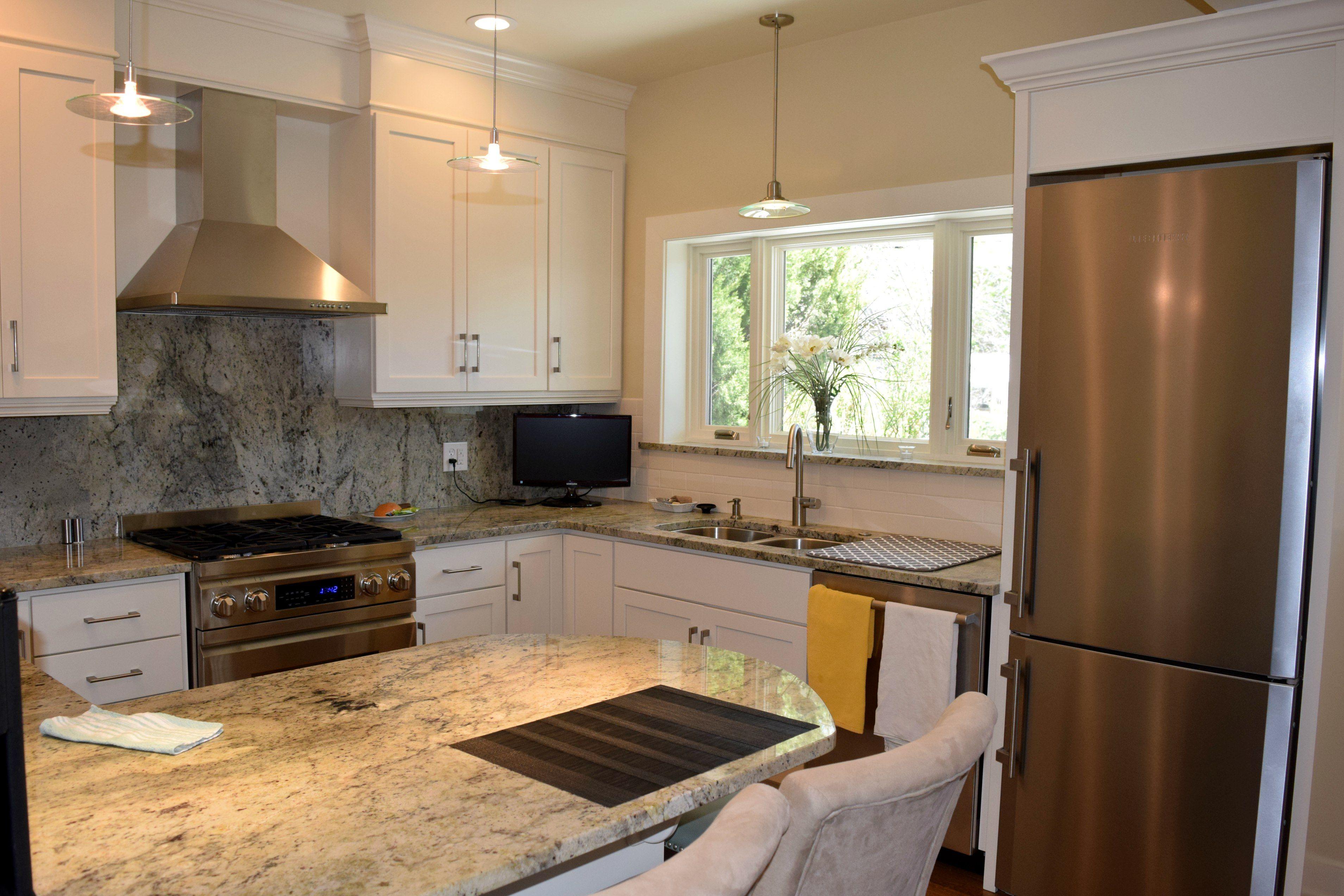 remodel works bath & kitchen copper backsplash bkc and cabinetry current