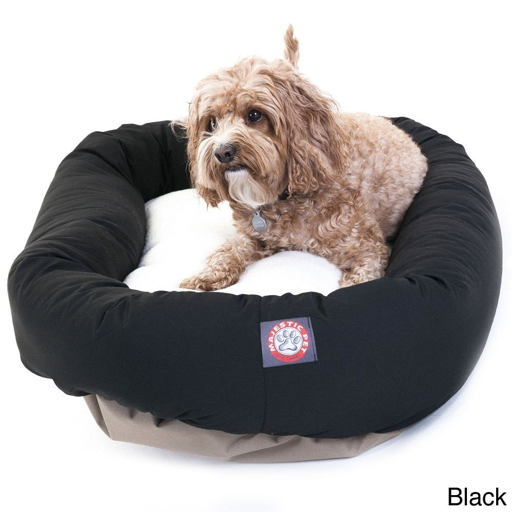Strange Majestic Pet Bagel Style Black Dog Bed 32 As Is Item Creativecarmelina Interior Chair Design Creativecarmelinacom