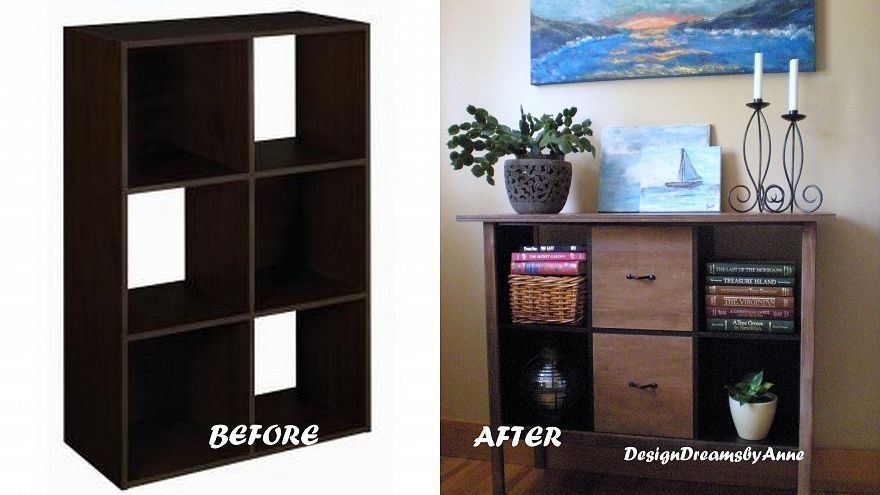Upcycle That Boring Cube Storage