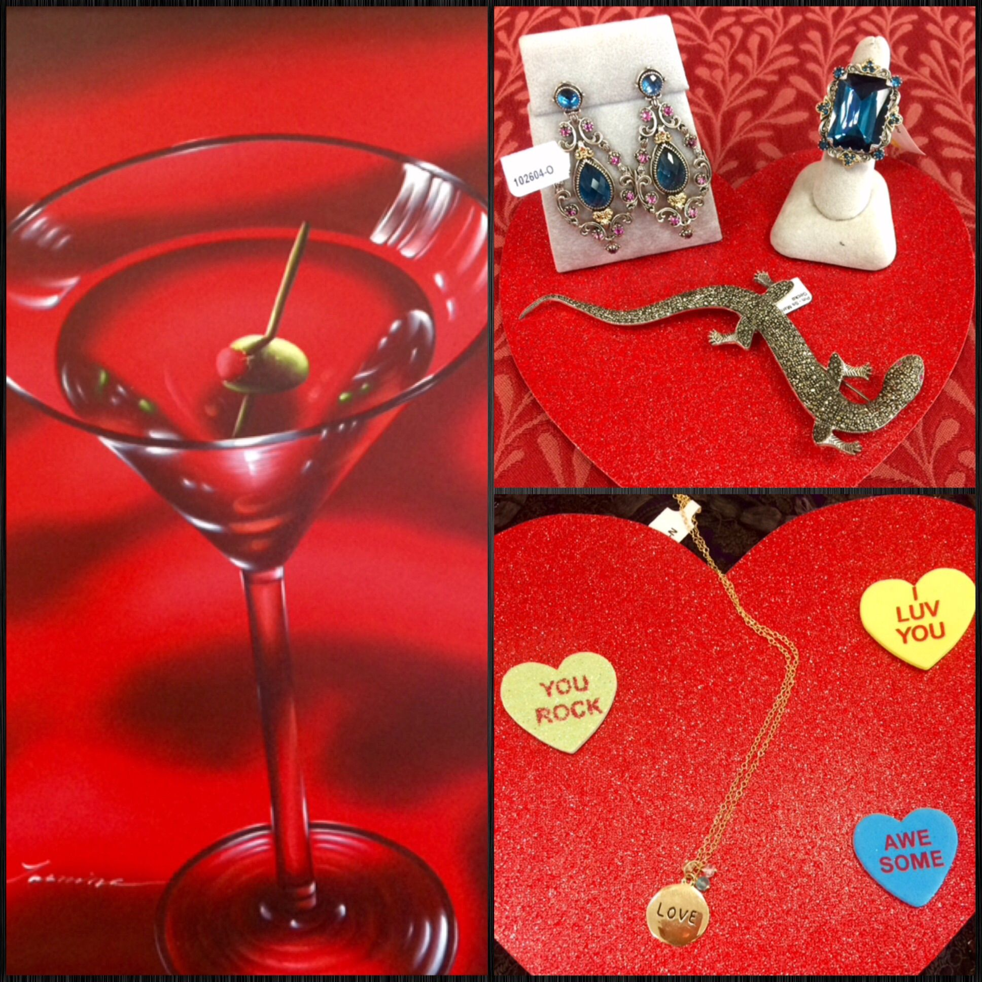 Roses Are Red Violets Are Blue Treat Your Sweetie To Something Glamorous From Our Jewelery Counter Alcoholic Drinks Glassware Martini Glass