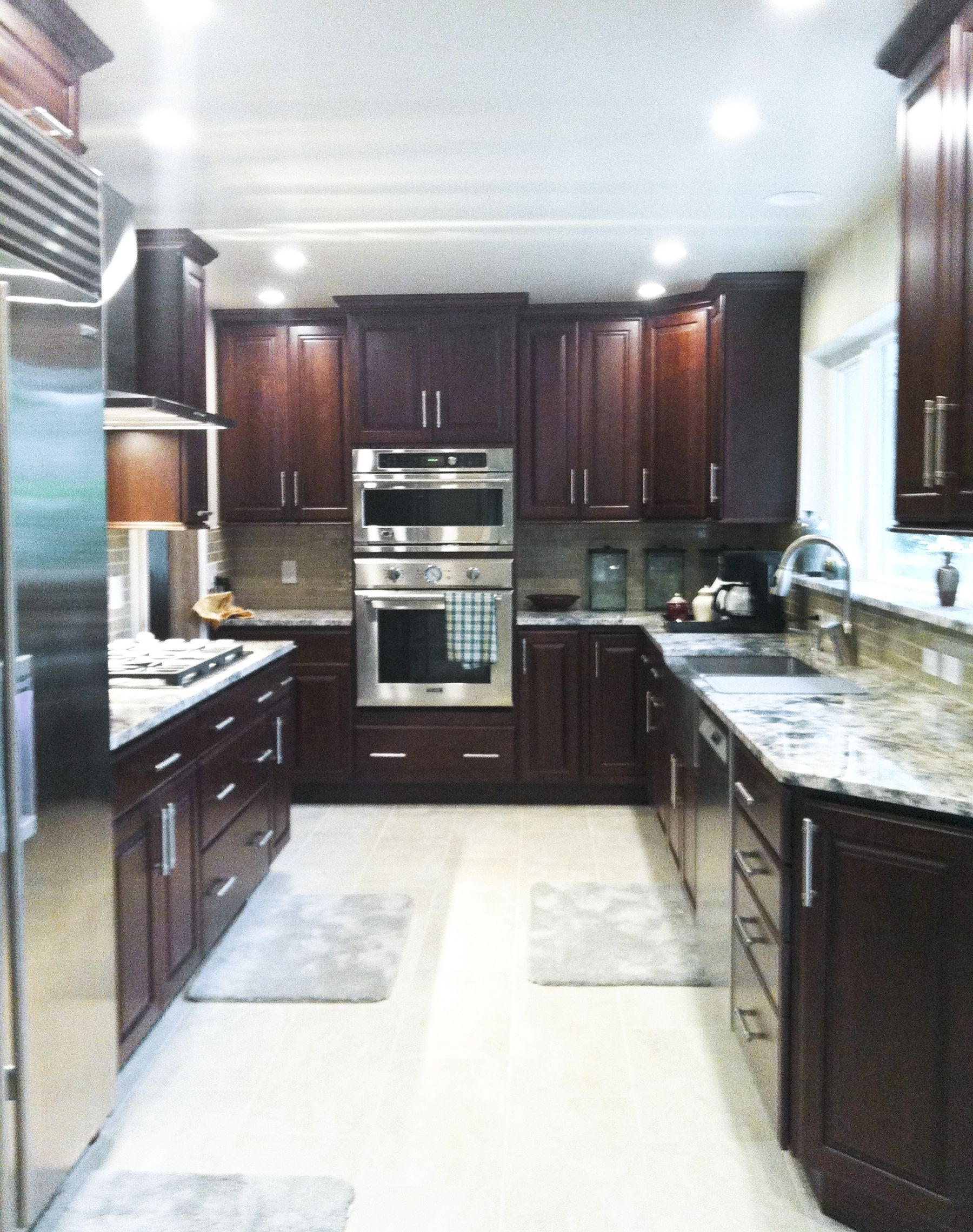 A Kitchen Remodel In Daytona Beach Florida Took A Kitchen From