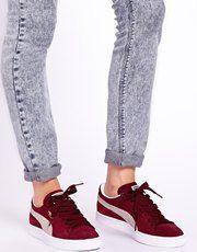 puma suede womens shoes