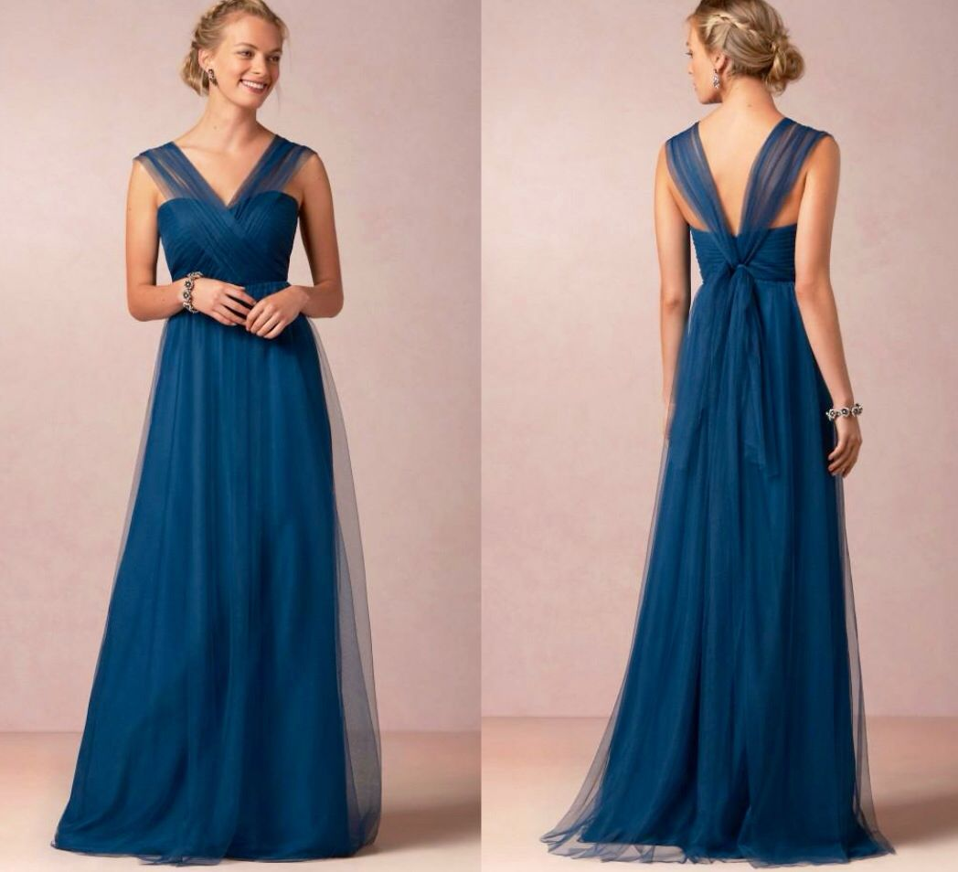 Dark teal floor length prom dress | Bridesmaids | Pinterest | Vestiditos