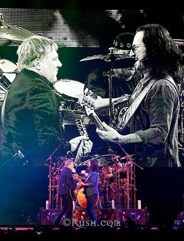 I'll remember this show for the rest of my life. RUSH