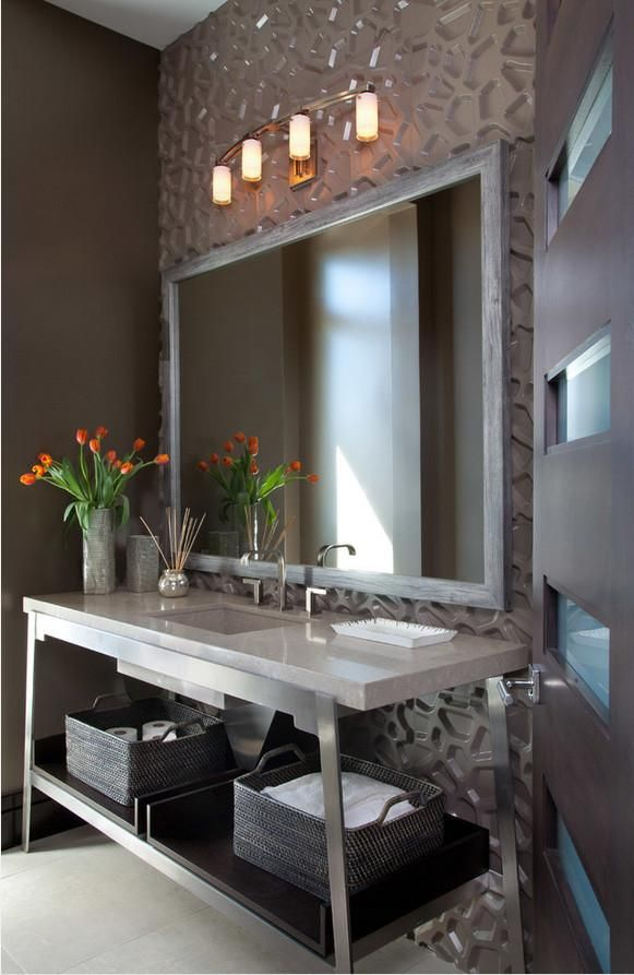 3d Room Interior Design: Hive Wall Flats Residential Bathroom Installation
