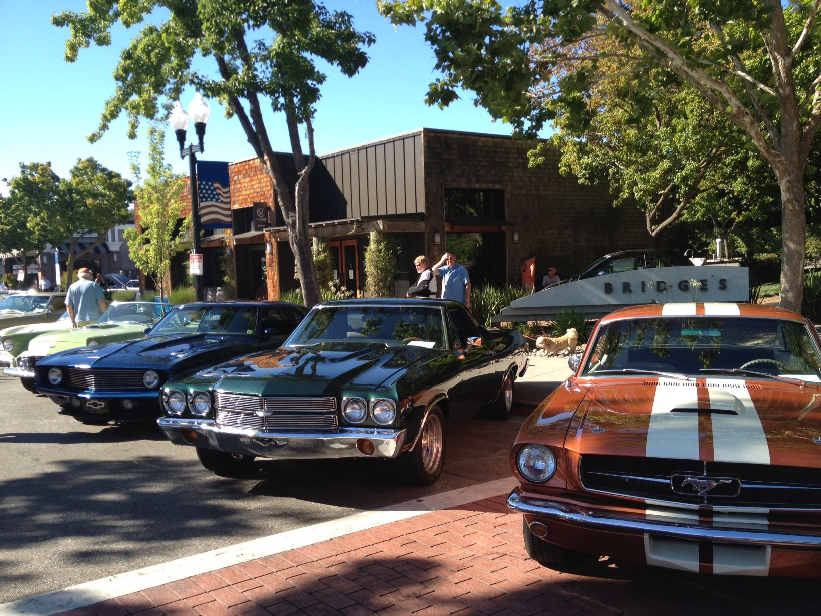 Hot Summer Nights Car Show in Downtown Danville CA July 18 & August