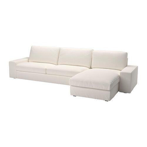 Fresh Home Furnishing Ideas And Affordable Furniture White Sectional Sofa Kivik Sofa Three Seat Sofa