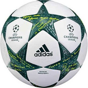 Balón de la Champions League 2016-2017  #futboldyc #championsleague