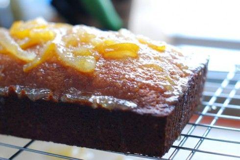 Citrus Marmalade Loaf Cake
